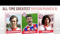 All-Time Greatest Bayern Munich XI | Muller, Beckenbauer, Robben!