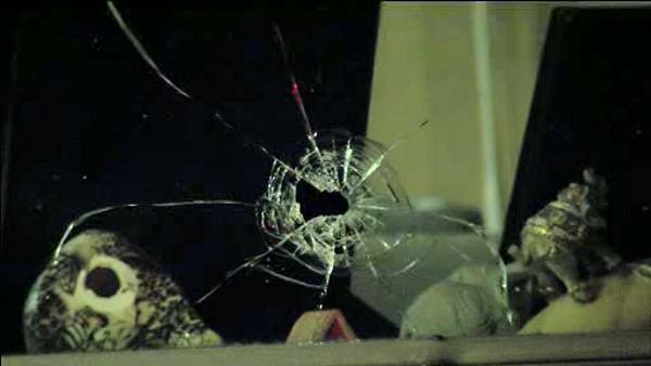 Stray bullet pierces Kensington home with family inside