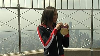Gold medalist Felix: 'I want to be in Rio'