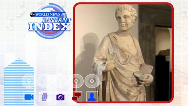 Instant Index: American Tourist Breaks Off Finger of 600-Year-Old Statue in Florence, Ouch!