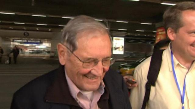 Newman released from North Korea