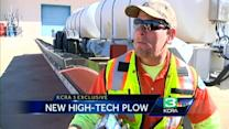 New Calif. snowplow turns heads even before snowfall