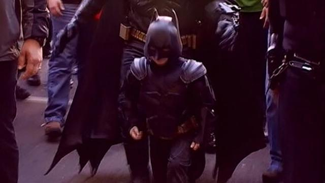 Batkid's Heroics Cheered on by Thousands