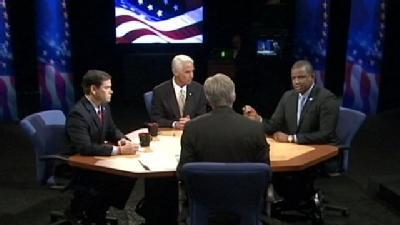 Rubio, Crist, Meek Face Off In Final Debate