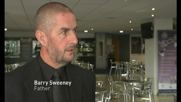 Funeral of MH17 victim Liam Sweeney takes place in Newcastle