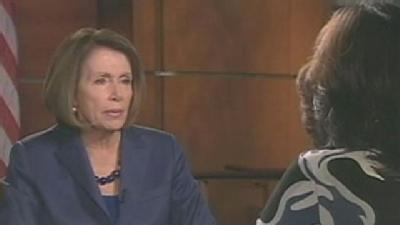 Pelosi Calls Scott Brown 'Clueless'