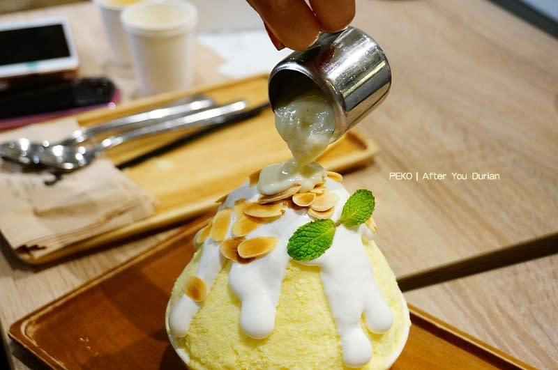 泰國榴槤冰.After You Durian.After You cafe.曼谷美食.曼谷榴槤刨冰.榴槤刨冰.曼谷蜜糖吐司.