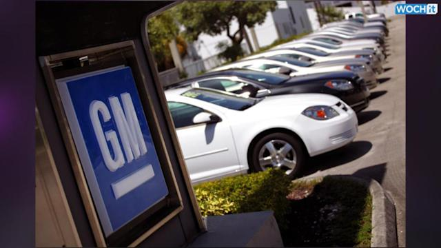 U.S. Says GM In Violation Of Its Order To Answer Questions About Recall
