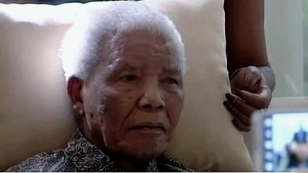 Mandela's health 'improving'