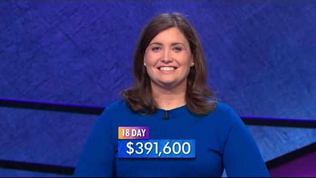 Winningest Woman Goes for 'Jeopardy' Record