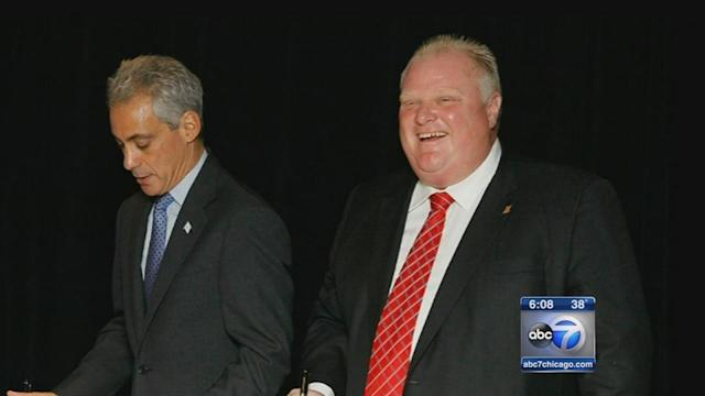 Toronto's embattled Mayor Rob Ford frequents Chicago
