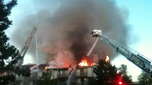 Wixom Apartment fire