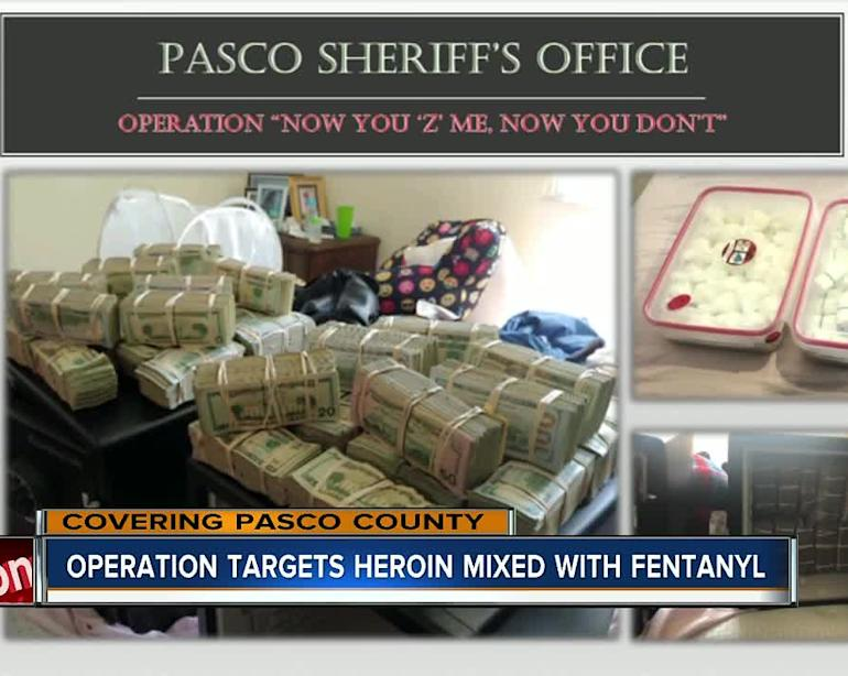 Pasco County arrest means thousands of doses of illegal drugs off