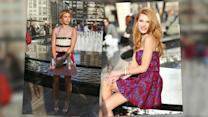Bella Thorne & Hailey Baldwin Light Up New York City
