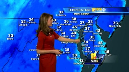 Brr! Prepare for chilly day, increasing clouds