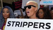 Amber Rose Cries Onstage at SlutWalk While Talking About Exes