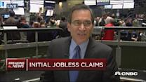 Weekly jobless claims up 17K to 274,000