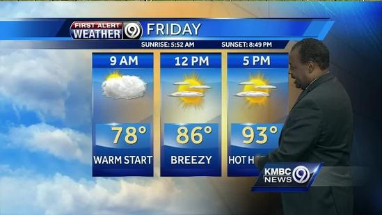 Your weekend weather will feel like summer