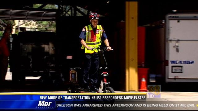 New mode of transportation helps responders move faster