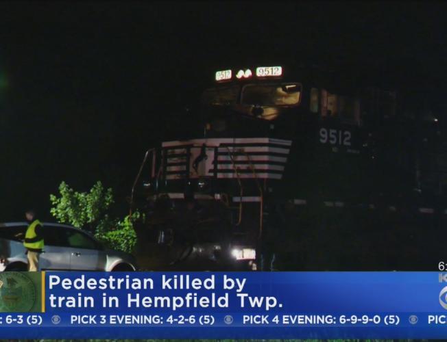 Man Struck By Train, Killed In Hempfield Twp