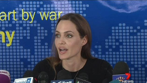 Jolie calls on world leaders