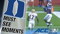 Duke's Jamison Crowder Scores a TD with Milestone Catch | ACC Must See Moment