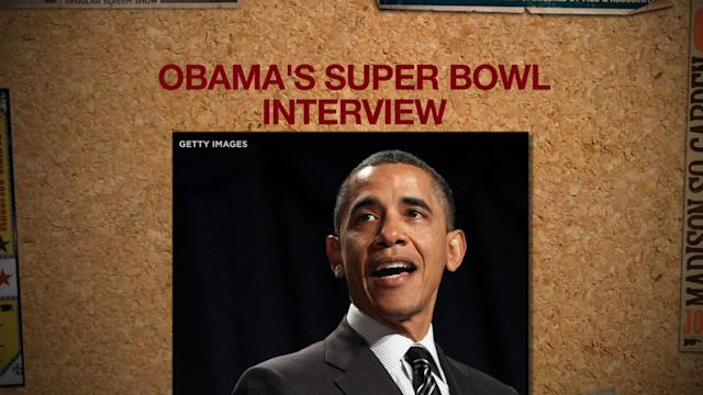 2 TAKES ON OBAMA'S SUPER BOWL INTERVIEW