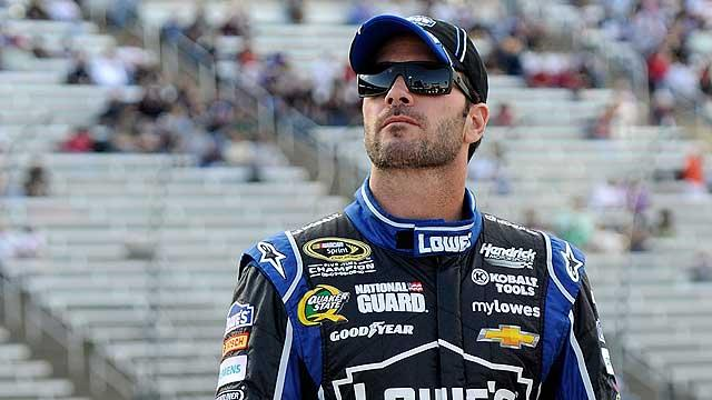 Can anyone catch Jimmie Johnson?