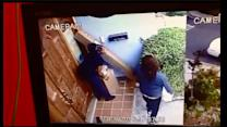 2 women caught on camera stealing packages