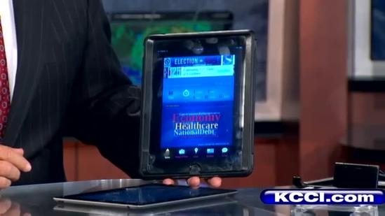 Get the new KCCI election app