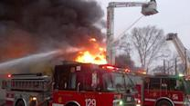 More than 130 firefighters called to fire at 68th and Cottage Grove in Woodlawn