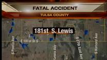 Unsafe speed causes fatal Tulsa County accident