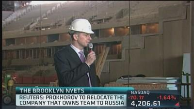 Brooklyn Nets owner relocating to Russia