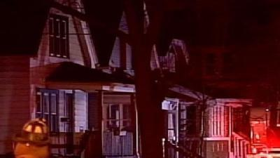 Firefighters Rescue People From House Fire
