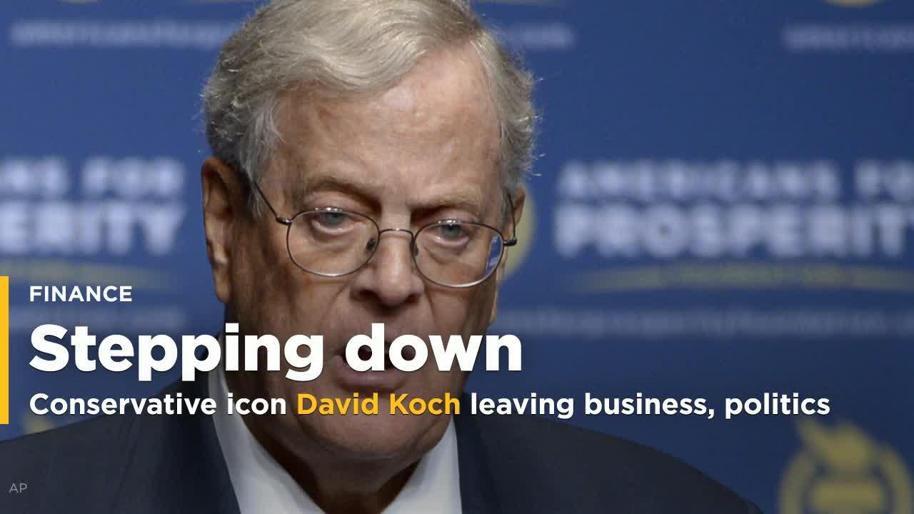 Conservative Icon David Koch Leaving Business Politics