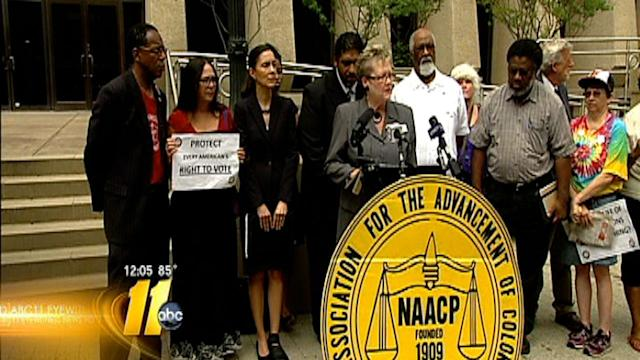 Voter ID bill focus of 'Moral Monday' NAACP rally