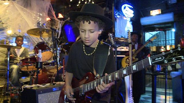 10-Year-Old Guitarist Wows New Orleans Music Scene