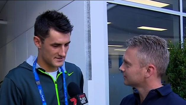 Tomic to face off with Federer