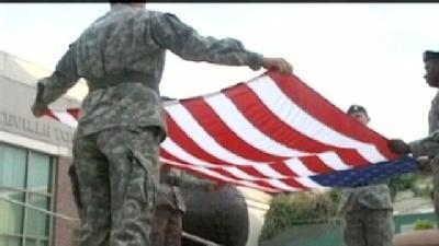 'Stars And Stripes' Shine Bright On Flag Day
