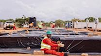 Giant Liquefied Natural Gas Plant for Mozambique
