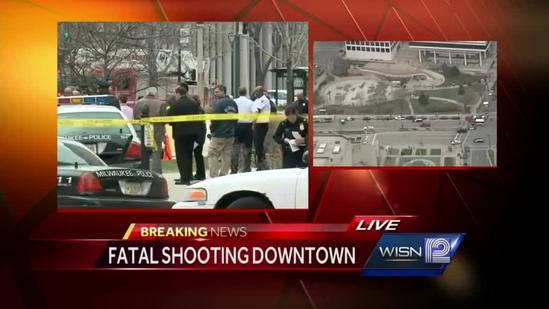 Shooting took place near Milwaukee City Hall