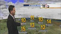 Tuesday's Forecast: Frigid temps hold steady