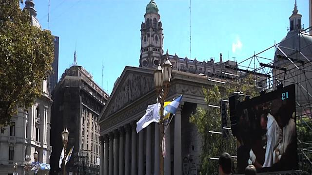 Argentina Prepares for Pope's Installation Mass