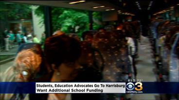 Students, Education Advocates Go To Harrisburg
