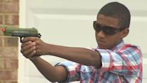 7th-graders suspended for firing toy guns at home