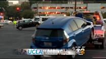 Crews Begin Towing Vehicles From Flooded UCLA Parking Structure