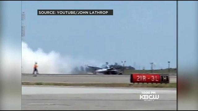 New Video Shows Deadly Travis AFB Crash