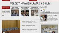 Team web coverage of the Kilpatrick corruption trial