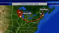 Republican Presidential candidate Mitt Romney held campaign rally in Janesville