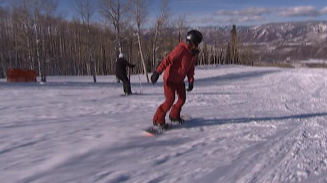 Double-Amputee Snowboarder Rules Slopes